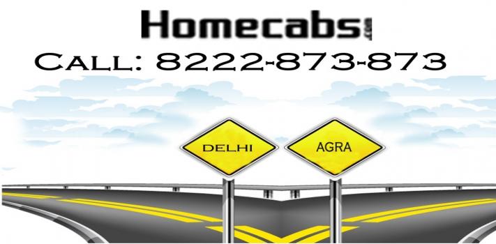 Agra to Delhi Oneway Taxi